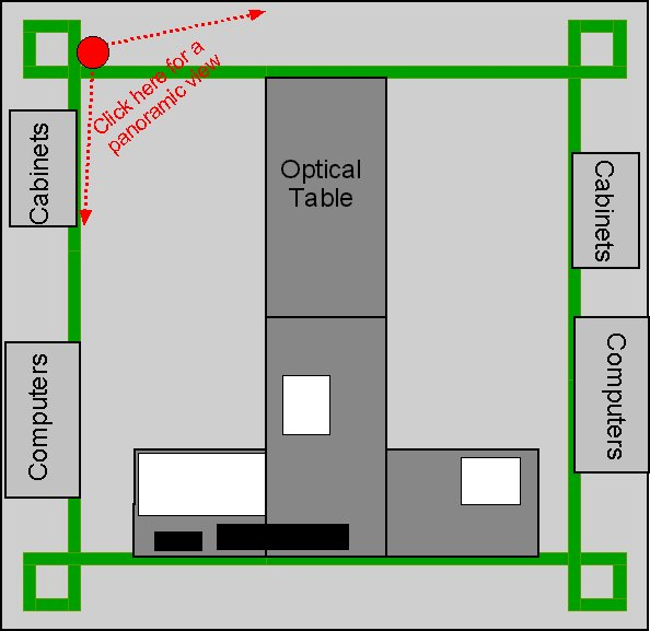 floor plan of the green lab